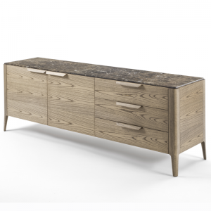 Atlante credenza designed by Carlo Ballabio for Porada