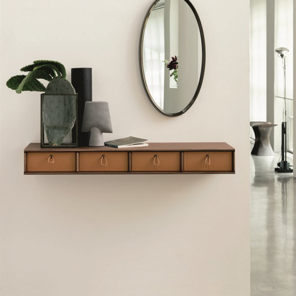 Bayus 6 shelf designed by G&O Buratti for Porada