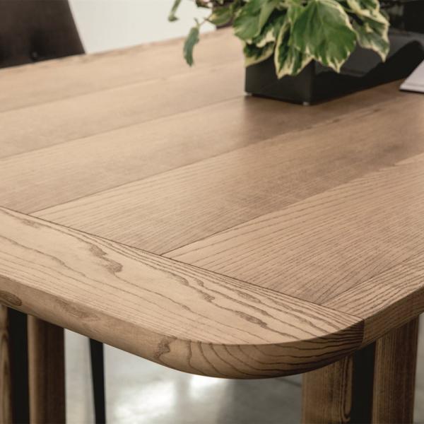 Quadrifoglio dining table designed by Carlo Ballabio for Porada