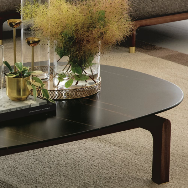 Quay coffee table designed by G & O Buratti