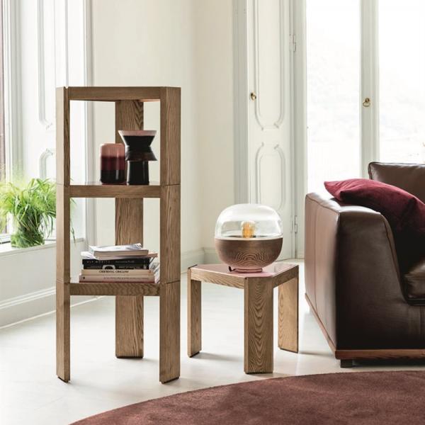 Tony side or coffe table designed by Essetipi for Porada